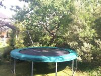 TP 12ft Garden Trampoline, Used, Good Condition
