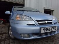 06 CHEVROLET TACUMA 2.0,MOT MARCH 017,2 OWNERS FROM NEW,2 KEYS,VERY LOW MILEAGE MPV,STUNNING EXAMPLE
