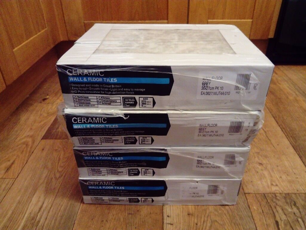 Wickes ceramic wall floor tiles grey new in mansfield wickes ceramic wall floor tiles grey new doublecrazyfo Images
