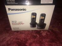 Panasonic DECT cordless phones (2)