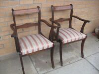 REPRODUCTION CARVER CHAIRS