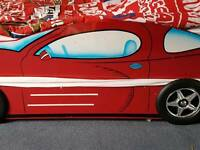 Sports Car Bed with guest pull out