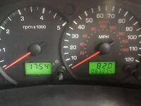 Low mileage ford transit van 350 MWB