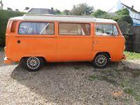 1975 Tax exempt VW camper