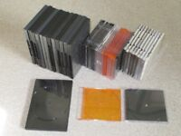 DVD / CD Cases - Various sizes and colours.