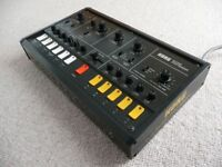 KORG X911 SYNTHESIZER, RARE VINTAGE SYNTH, MS20 FAMILY & TB303 STYLE BUT UNIQUE