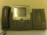 Cisco IP Phone 7975 with Expansion Module