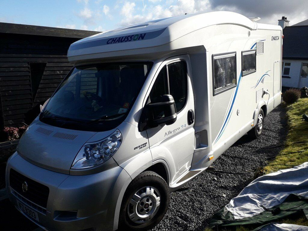 Chausson Allegro 94 motorhome, 2012, 18300 miles, as new, price reduced     in Newry, County Down   Gumtree