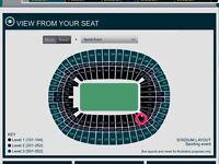 2 Adele tickets Sunday 2nd July Lower tier