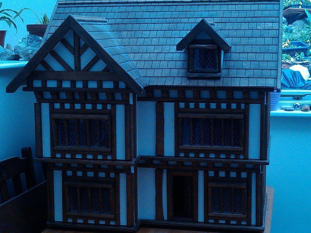 Tudor style dolls house