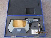 Draper75-100mm digital micrometre