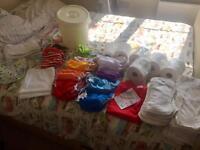 Reusable nappy kit Wonderoos Totsbots Motherease