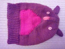 Robin knitted woollen hat