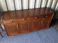 Lovely Vintage Antique Ercol G Plan Sideboard Dresser