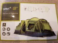 Brand New Gelert Horizon 4 Supreme Tent and Footprint Ground Sheet