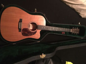 Martin 16 Series DC-16GTE Dreadnought Cutaway Electro Acoustic Guitar weezer