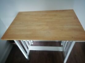 High breakfast table/dining table/work desk