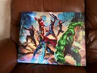 Marvel picture frame