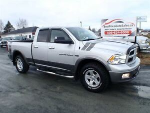 2012 Ram 1500 SLT OUTDOORSMAN! 4X4! CERTIFIED!