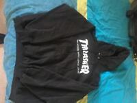 Black Thrasher Hoodie size XL