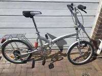 ADULT SUSPENSION FOLDING BIKE BICYCLES4U NEAR MINT CONDITION