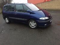 RENAULT ESPACE 2.2 DIESEL 7 SEATER BIG FAMILY CAR -- LOW MIL. GOOD CONDITION
