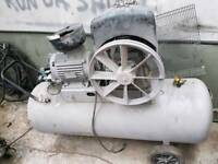 3 phase air compressor spares or repairs