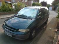 Crysler Grand Voyager, great condition, low mileage. will have 1 year MOT