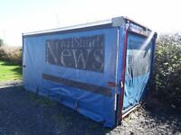 Lorry Container Curtain Sider