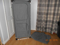Towsure camping wardrobe / shelving unit very good clean condition