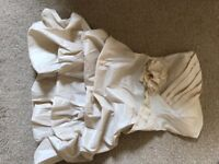 Occasion/party dress. Size 6 strapless, champagne dress from Quiz