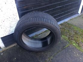 2 excellent tyres 1 michelin 1 roadstone both 285/45R 19 first to view will get a bargain thanks
