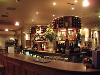 Part Time Bar/floor staff required