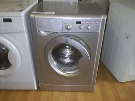 INDESIT SILVER / GREY WASHING MACHINE IWD71250S 7KG A CLASS fully refurbished , free local delivery