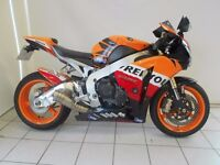 SOLD SOLD SOLD!! 2009 Repsol Fireblade with Leo Vince Exhaust ---- Save £400 ---- Price Promise !!!!