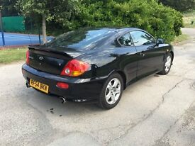 2004 Hyundia coupe 2.0L SE great little sports car