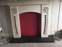 Charles Rennie Mackintosh design Fire Place