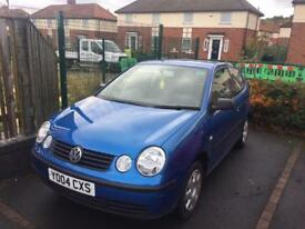 2004 VW POLO 1.2 READY TO DRIVE AWAY