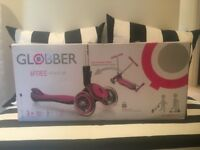*New Globber fold up pink scooter