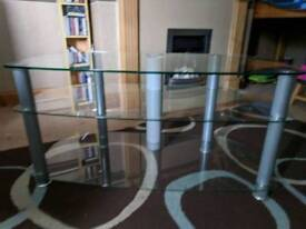 Sony glass tv unit