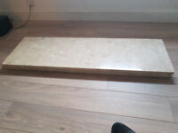 Solid Marble Hearth For Sale
