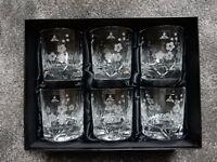 Royal Doulton Lead Crystal Chelsea pattern tumblers