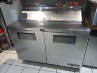 for sale is 1200 wide commercial prep fride fully working