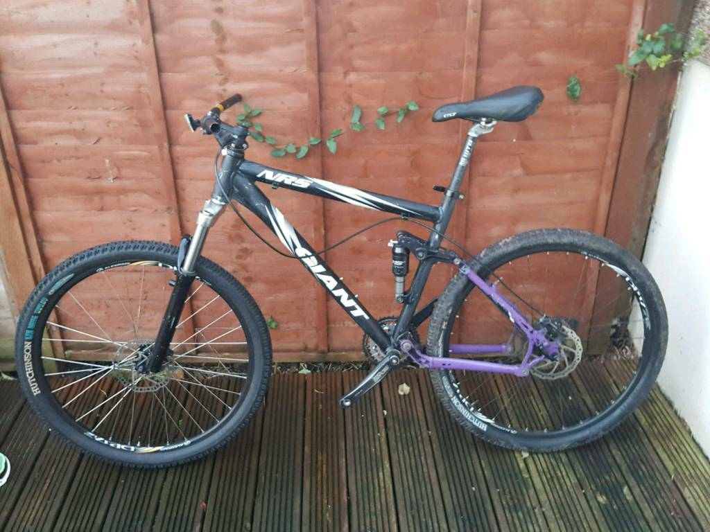 For sale are Giant NRS and Specialized Hardrock bikes (unfinished ...