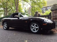 2004 MAZDA MX5 1.6 CONVERTIBLE 2 FORMER KEEPERS CAM BELT CHANGED DRIVES SPOT ON BARGAIN NO OFFERS