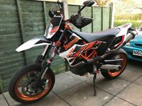 KTM 690 SMC R 2014, 6870 Miles, Akrapovic Exhaust, Anodised Parts