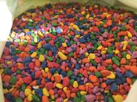 SUPER CHEAP approx. 300kg of mixed coloured gravel