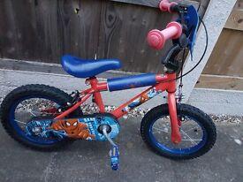 10 inch Spiderman Bike
