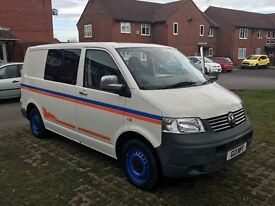 vw t5 campervan for sale, weekender set up with apple stereo