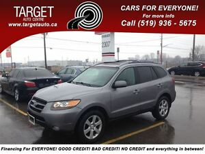 2007 Hyundai Santa Fe Fully Loaded; Leather, Roof and More !!!!!
